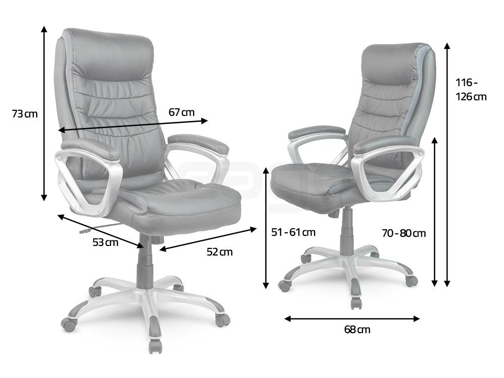 wymiary fotela