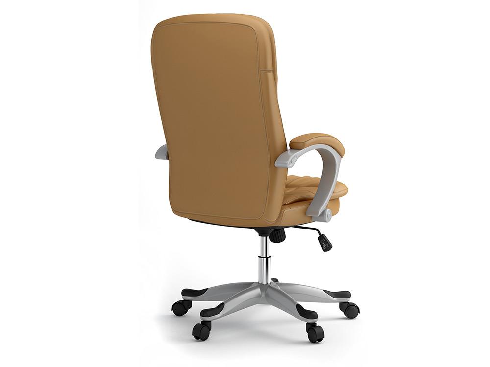 b rostuhl chefsessel drehstuhl kunstleder schreibtischstuhl eago eg 322 beige ebay. Black Bedroom Furniture Sets. Home Design Ideas