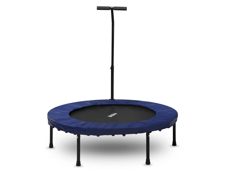 fitness trampolin jumping sportger t indoor mit dem griff 112 cm neo sport ebay. Black Bedroom Furniture Sets. Home Design Ideas