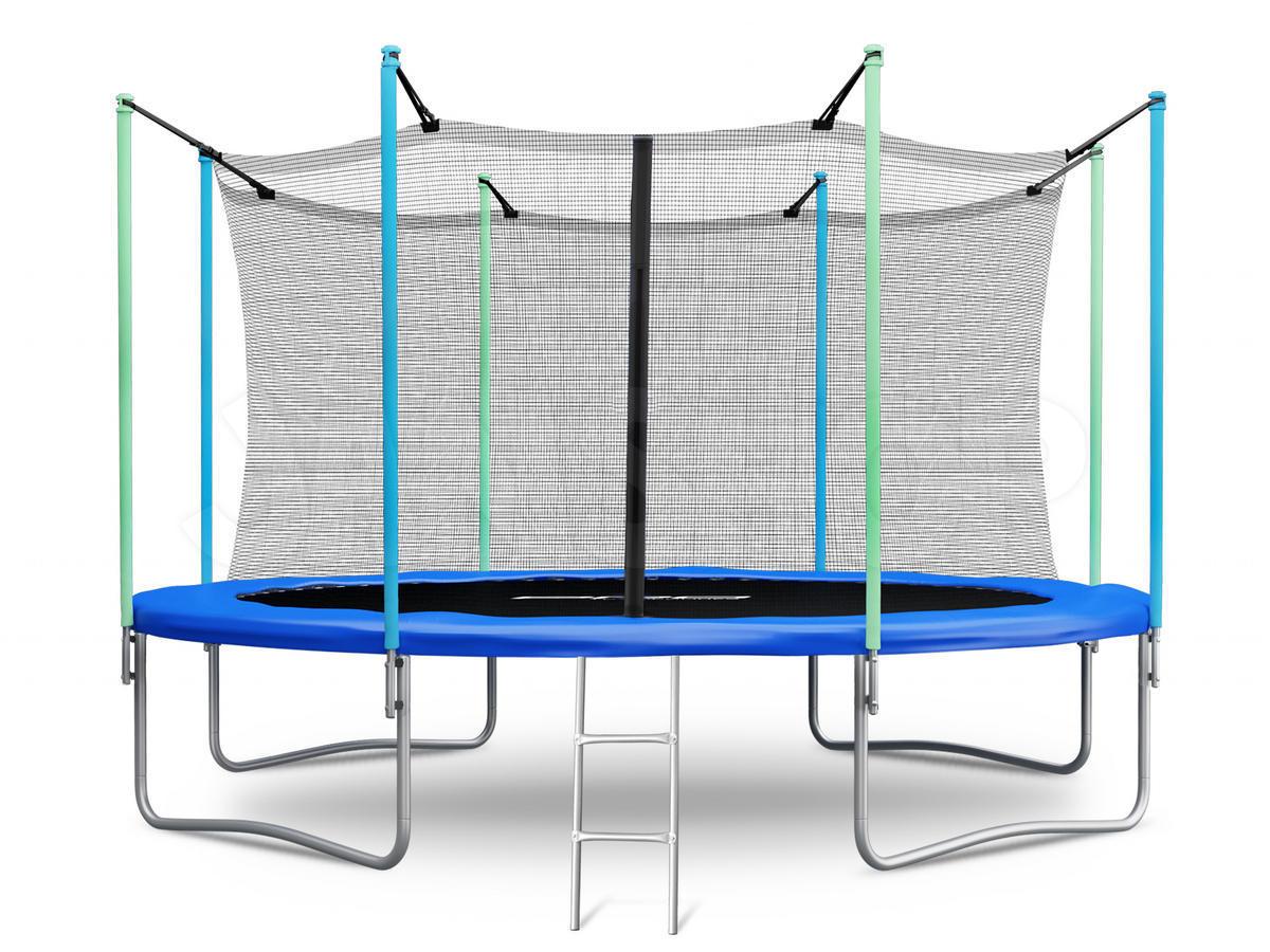 trampolin gartentrampolin innennetz mit sicherheitsnetz. Black Bedroom Furniture Sets. Home Design Ideas