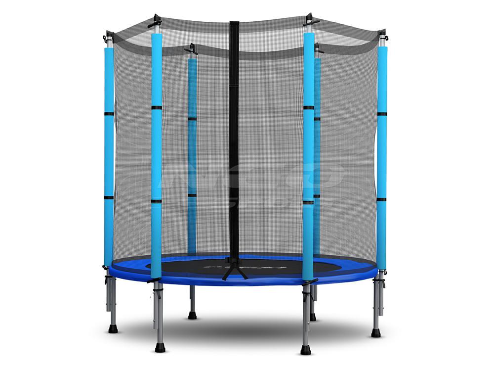 trampolin f r kinder mit au ennetz 140 cm 4 5ft neo sport. Black Bedroom Furniture Sets. Home Design Ideas