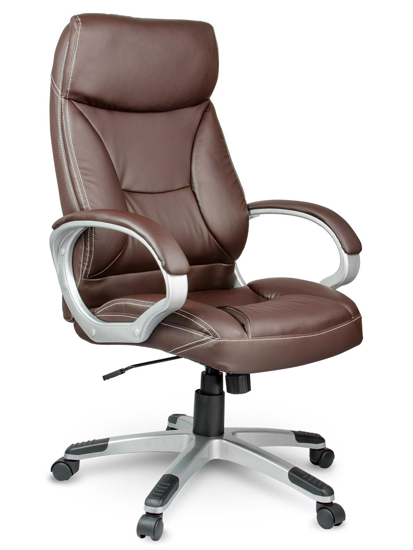 W superbly Fotel biurowy skórzany Eago EG-223 brązowy :: baseny ogrodowe w FF03