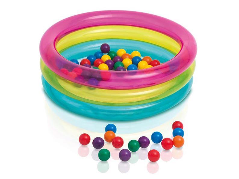 6a8104227 Kojec dmuchany z piłkami 86 x 25 cm INTEX 48674 :: baseny ogrodowe w ...