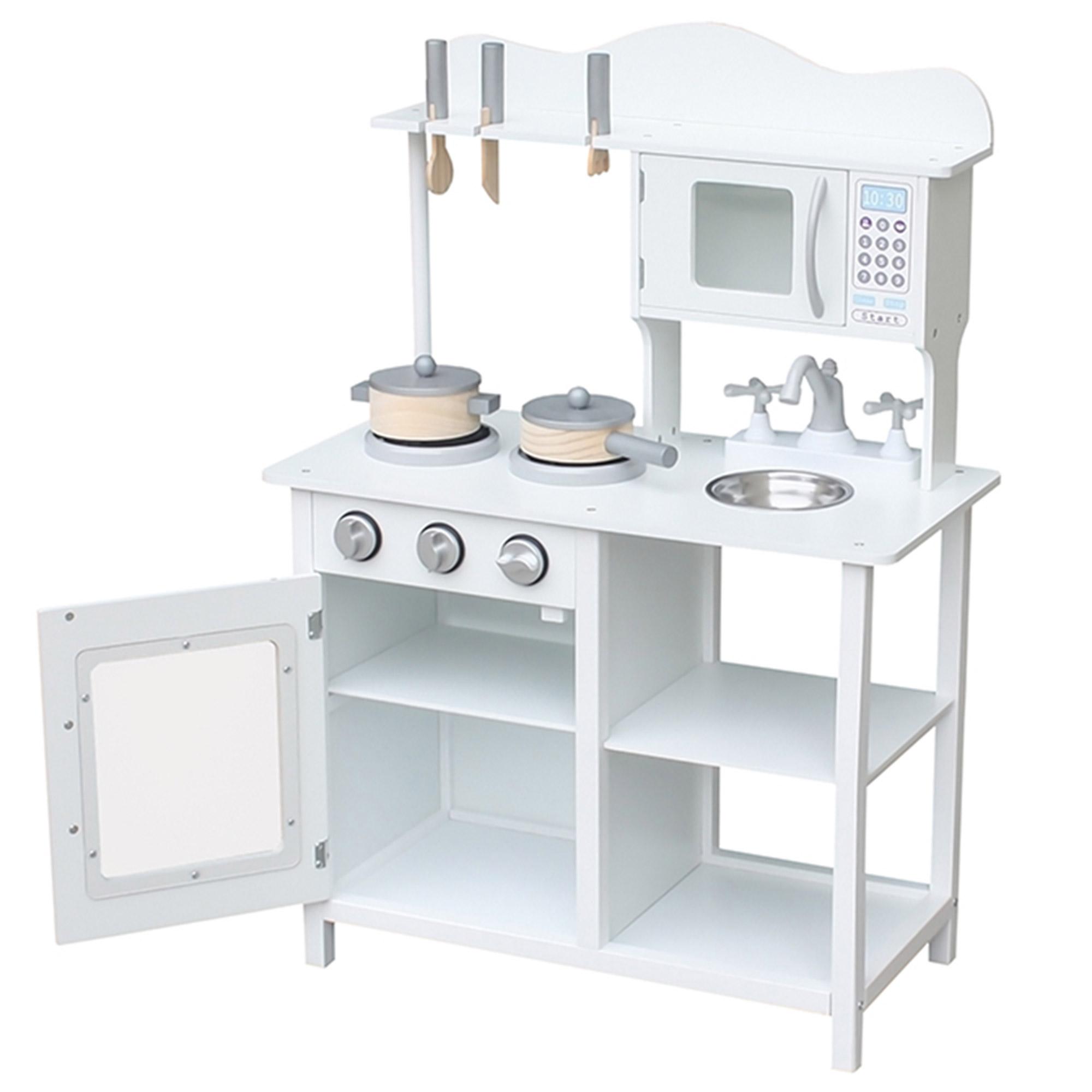 Kuchnia Drewniana Dla Dzieci 60 X 30 X 85 Cm